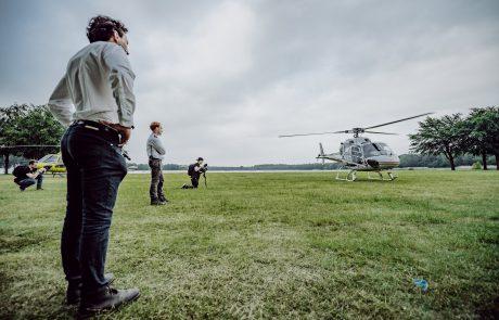 Helikopter evenement