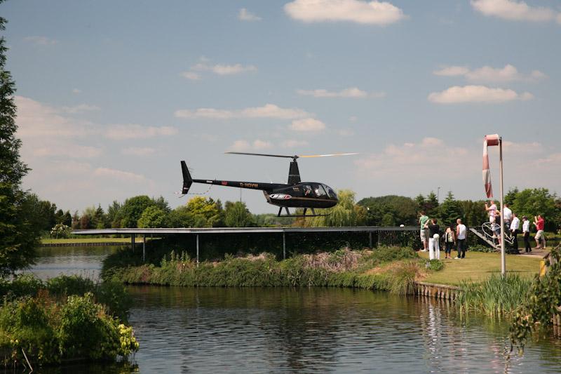 Helikopter op uw evenement of feest